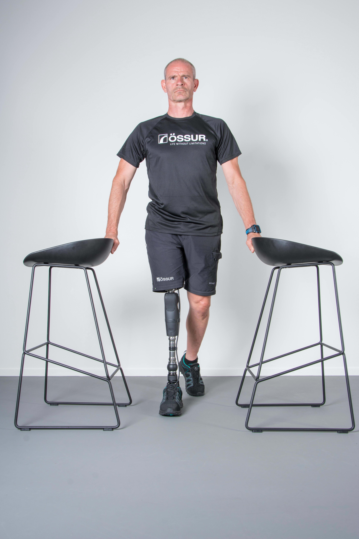 Strengthening exercises for prosthetic knee users.