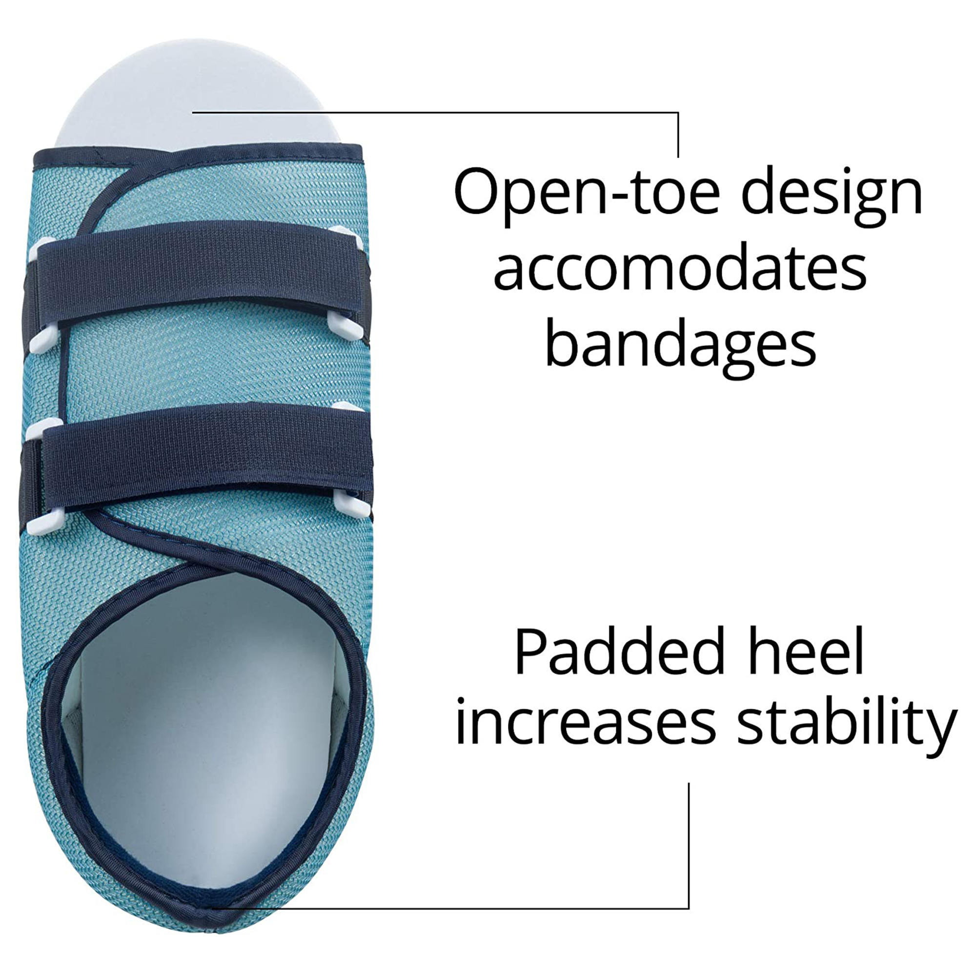 Mesh Top Post-Op Shoe Male